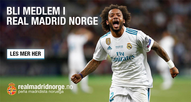 Bli medlem i Real Madrid Norge